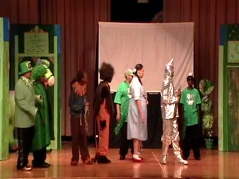 """The Magical Land of OZ"" A YMCA Art Club Theatre Production"