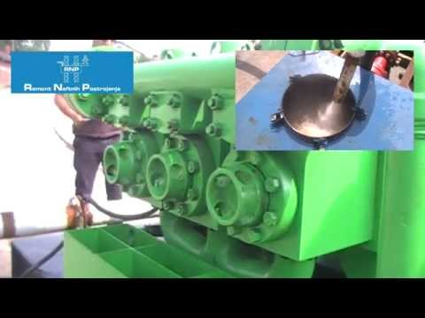 Mud pump PZ-8 testing 20 05 2015