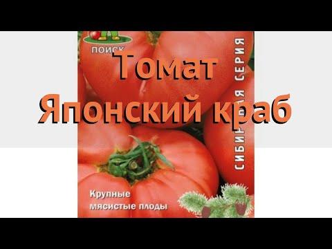 Томат обыкновенный Японский краб (yaponskiy Krab) 🌿 обзор: как сажать, семена томата Японский краб