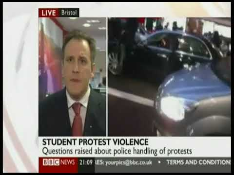 BBC News Report On Royal Security