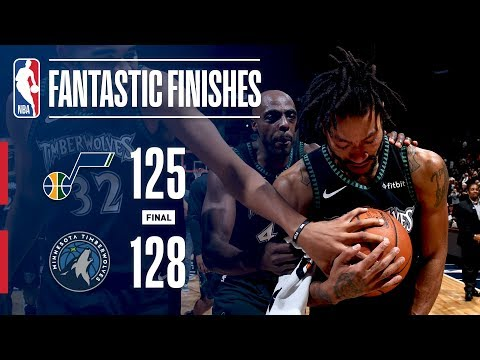 The Jazz And Timberwolves Go All The Way Down To The Wire | October 31, 2018