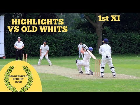 Sanderstead 1st XI vs Old Whits 1st XI: BEST MATCH OF 2018 SO FAR!