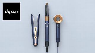 New special edition Dyson technology in Prussian blue and rich copper