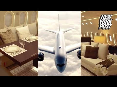 This palatial plane makes your private jet look pathetic