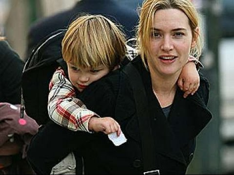 Kate Winslet With Her Family - YouTube