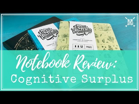 Cognitive Surplus Notebook Review