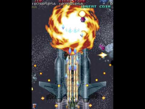 Raiden Fighters JET ERASER参考動画