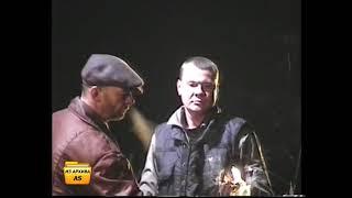 """Я на съёмках сериала """"Дальнобойщики - 2"""". 28 марта 2004г. ( Тарусский район, с. Кузьмищево)."""