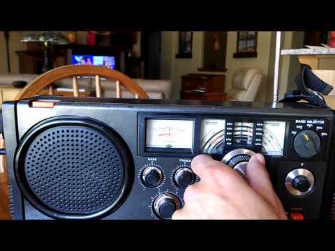 Aimor TR 105 Transistor Radio Review Vintage Worldwide Receiver!