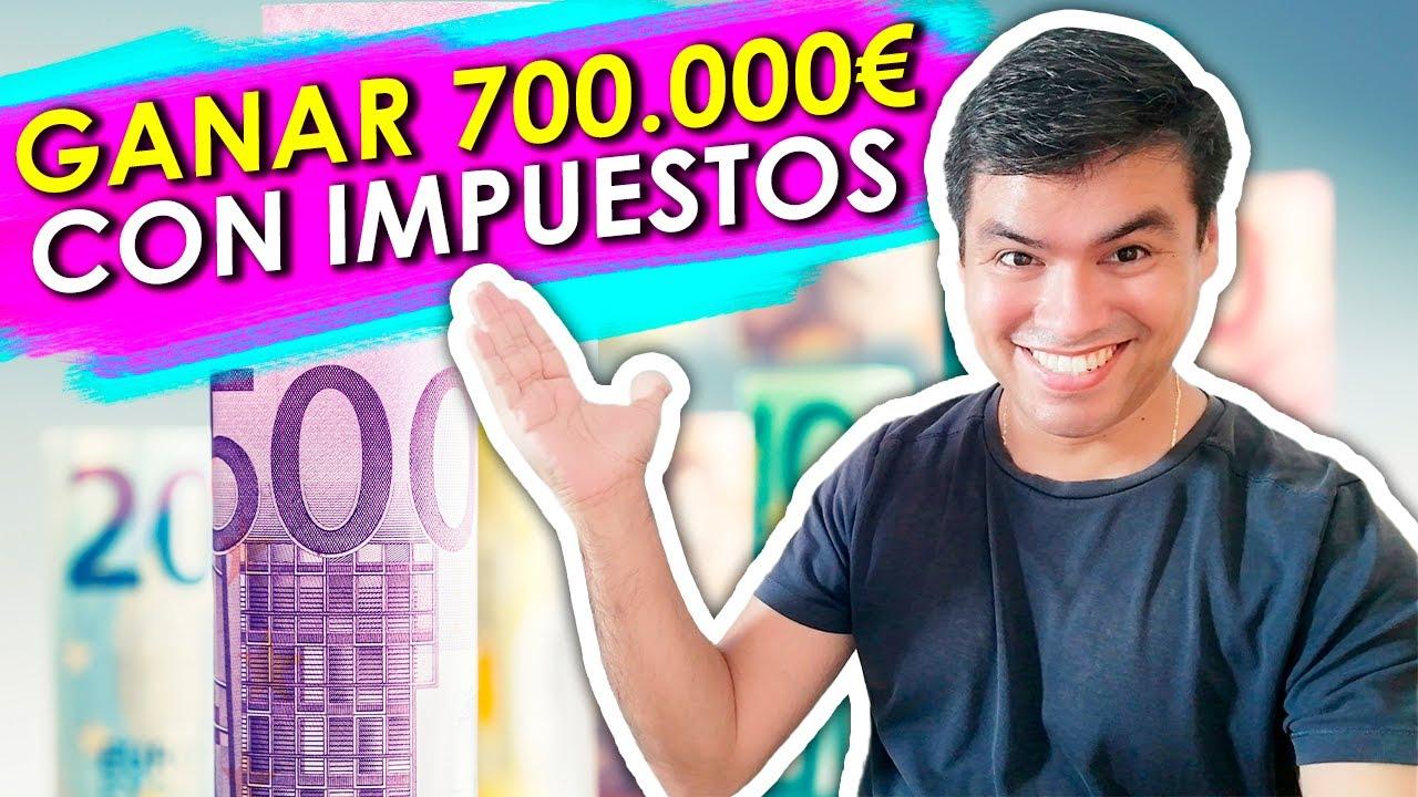 Como GANAR 700 Mil EUROS con los Impuestos !! [ EJERCICIO PRACTICO ] l Anyelo Rico