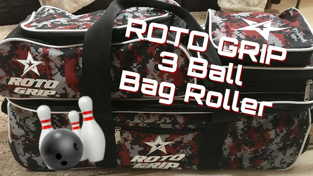 daa0efa547 Roto Grip 3 Ball Bag Roller   Bowling Bag - YouTube