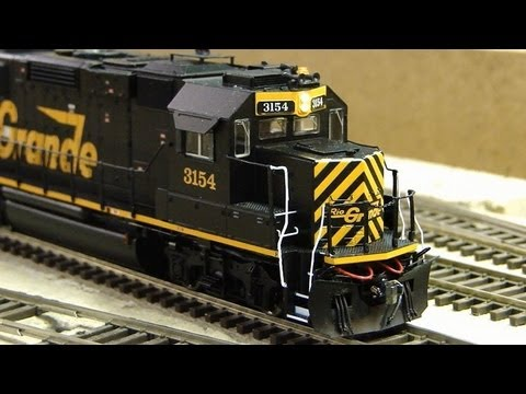 Custom Detailed Proto 2000 DRGW GP60 3154 YouTube