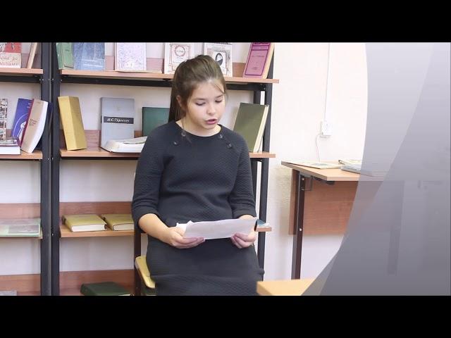 Изображение предпросмотра прочтения – ДарьяКостылева читает отрывок изпроизведения «Записки охотника. отрывок» И.С.Тургенева
