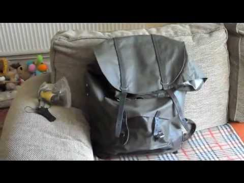 e9e5aea86f Swiss army rubberized rucksack 60L from transworld surplus - YouTube