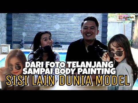 CERITA IRMA TENTANG DUNIA MODEL INDONESIA,PERNAH DIAJAK FOTO BUGIL SAMPAI BODY PAINTING