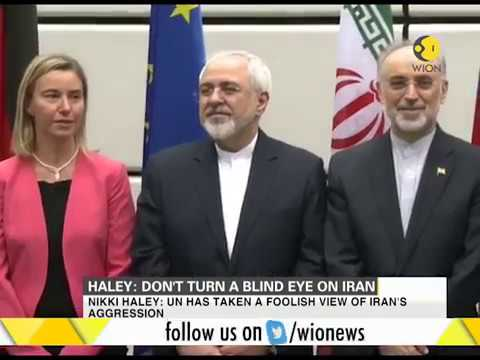 Nikki Haley: Don't turn a blind eye on Iran