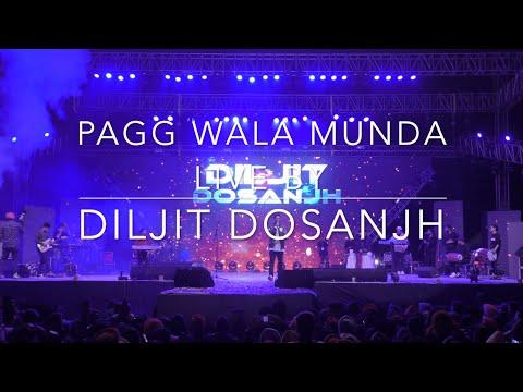Amazing Live Version || Pagg Wala Munda Live By Diljit Dosanjh