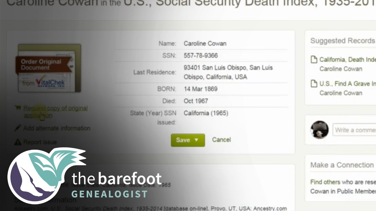 Index Only Records | Ancestry