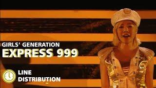 SNSD - EXPRESS 999 [LINE DISTRIBUTION] OT9 - Stafaband