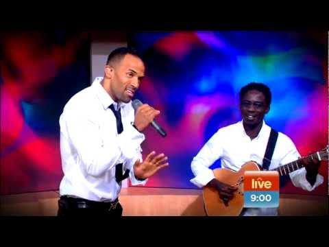 Craig David Performes '7 Days' Live on Sunrise TV Australia