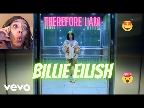 Billie Eilish - Therefore I Am (Official Music Video) || REACTION!!