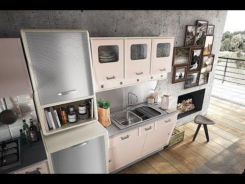 Винтажная кухня в стиле  50- х