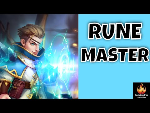 NEW HERO Rune Master Castle Clash Best Heroes