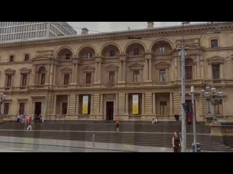 Melbourne Old Treasury Building and Fitzroy Gardens