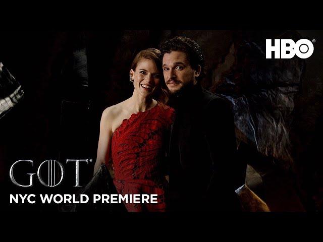 Final Season World Premiere - Glamstone   Game of Thrones   HBO