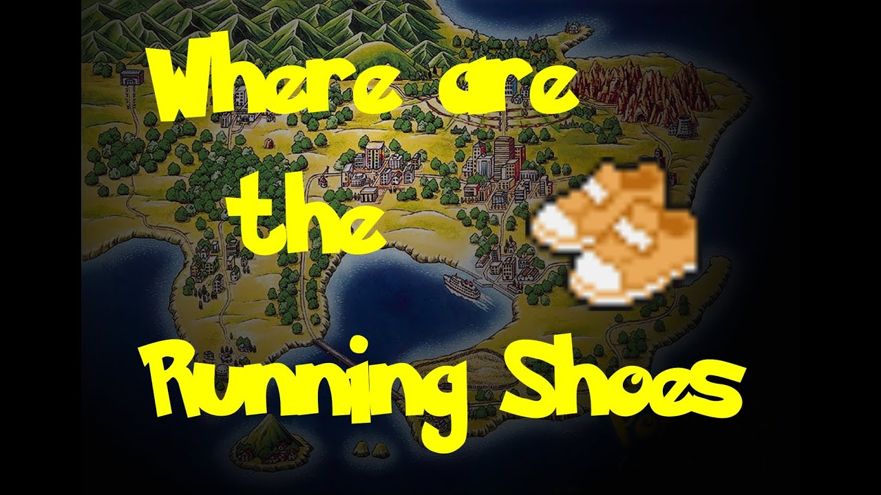 Where To Find Running Shoes In Pokemon Red