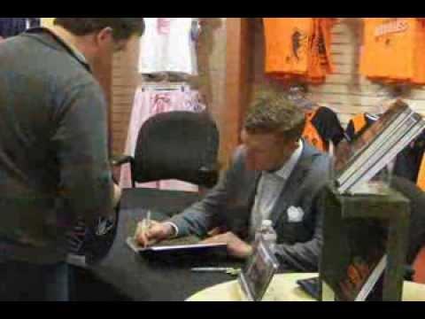 Book signing with Baltimore Ravens champion Matt Birk