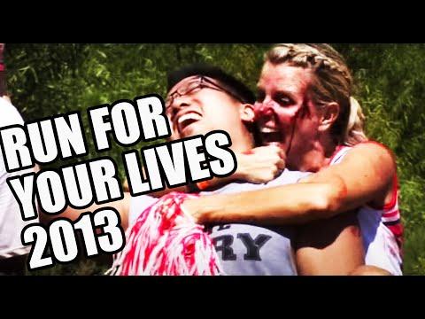 Run For Your Lives Zombie 5k Atlanta/Dalton GA 2013
