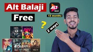Alt Balaji Free Subscription - How to get Alt Balaji Subscription for free screenshot 5