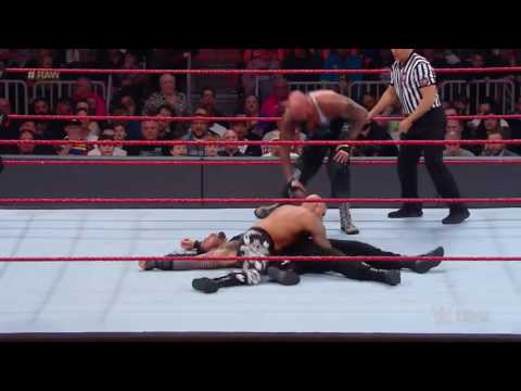 Roman reigns vs luke gallows and karl anderson 2 on 1 Handicap match