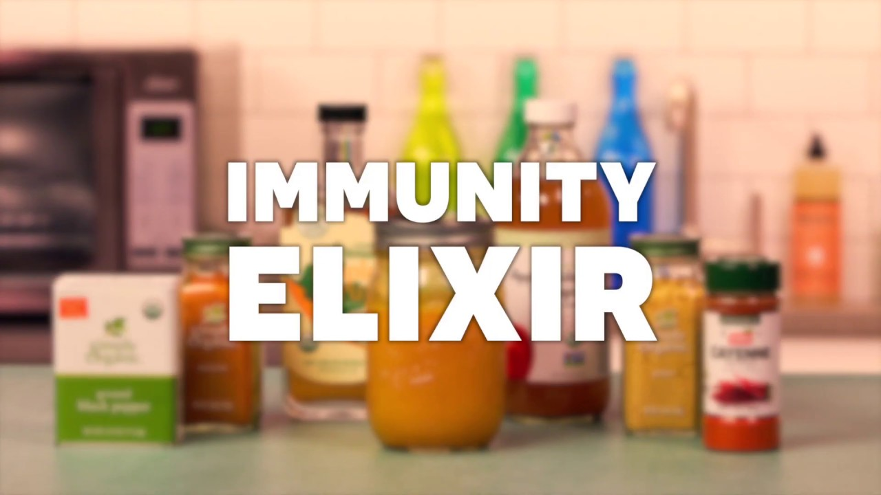 How to Make an Immunity Elixir with Apple Cider Vinegar and Turmeric