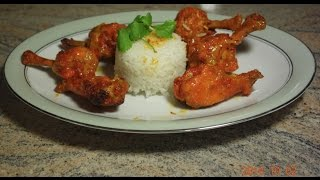 Hot And Spicy Mango Glazed Chicken Wings | Punjabi Style Buffalo Chicken Wings