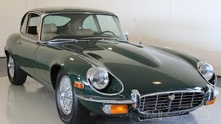 Jaguar E-Type 5.3 ltr 2+2 coupe 1971 fully restored British Green -VIDEO- www.ERclassics.com