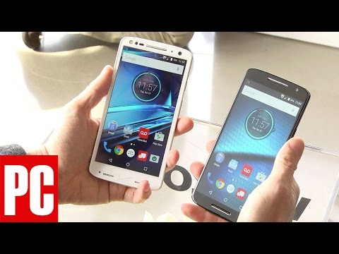 Hands on with the Motorola Droid Turbo 2 and the Droid Maxx 2