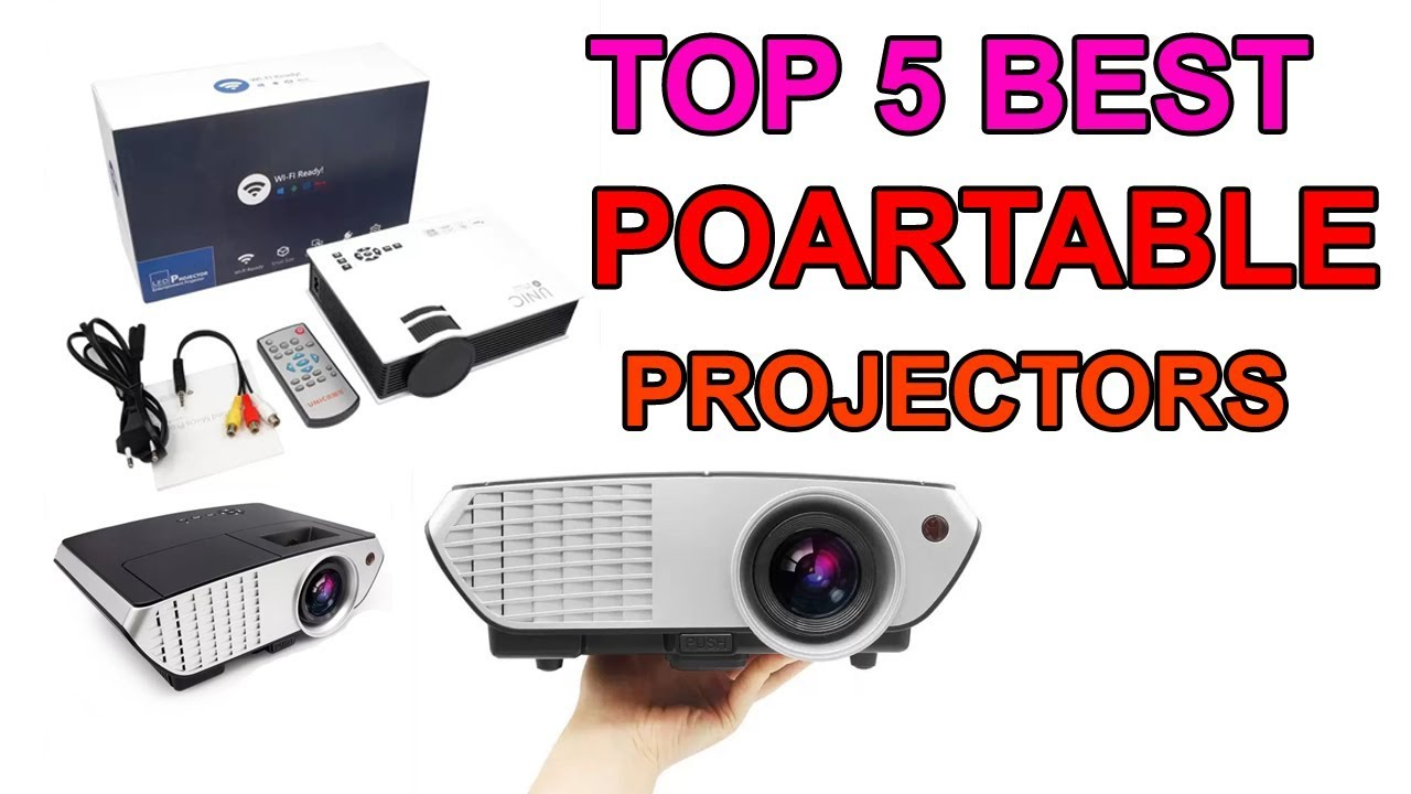 Top 5 Best Portable Projectors In India For Home Theatre School And Office Use With Price
