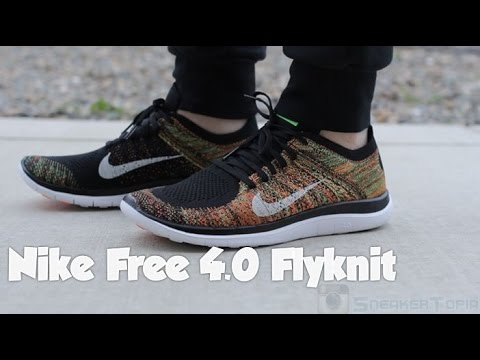 nike free 4 0 flyknit multicolor 2015 review youtube rh youtube com