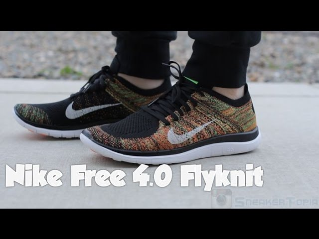 sustantivo expandir Martin Luther King Junior  Nike Free 4.0 FlyKnit Multicolor 2015 Review - YouTube