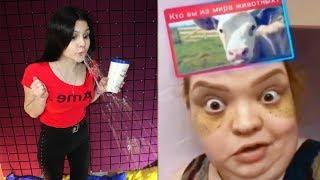 Самое смешное видео в мире Попробуй не засмеяться с водой во рту челлендж ч 102