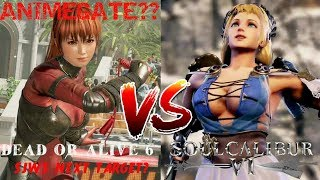 Video DEAD OR ALIVE 6 VS SOUL CALIBUR 6 - IS THIS SJW'S NEXT TARGET & ANIMEGATE? download MP3, 3GP, MP4, WEBM, AVI, FLV Juni 2018
