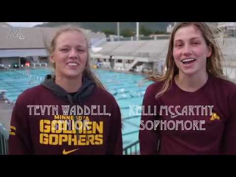 Gopher Swimming Training Trip Video Journal #5