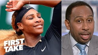 Serena Williams ranks among Stephen A.'s top 3 greatest athlete of all time | First Take