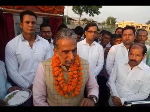 Minister and Faridabad MP Krishanpal Gurjar Attacks Bhupinder Hooda