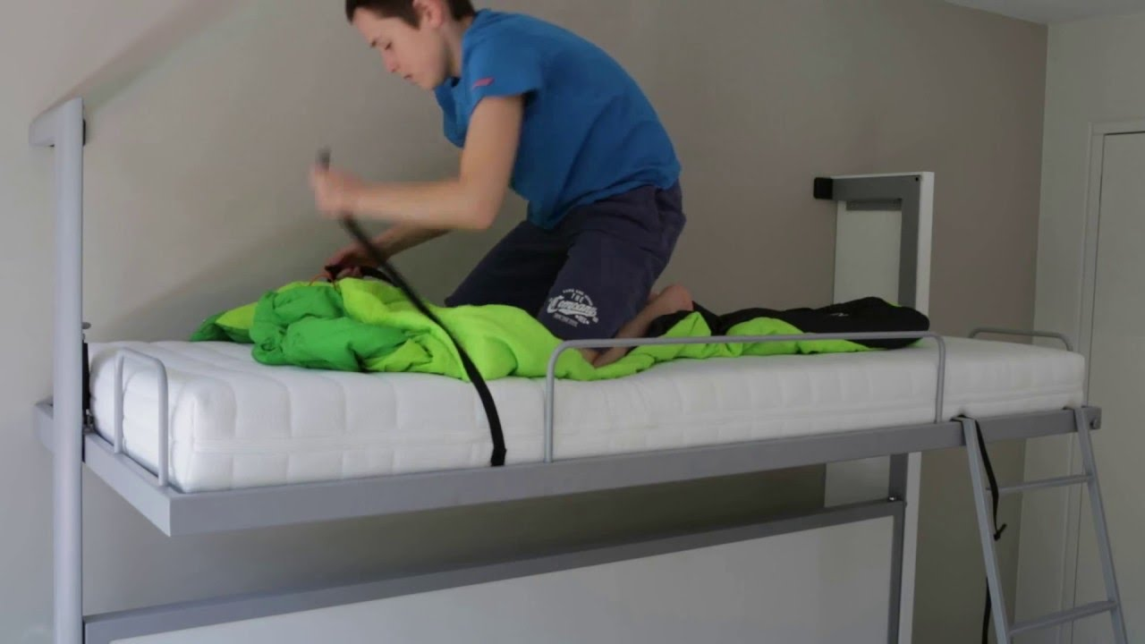 Sellex Demonstration Video La Literal Folding Bunkbed Panache