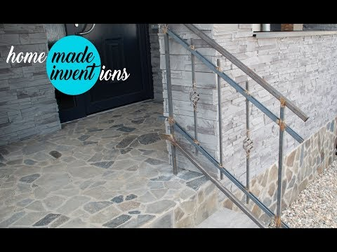 DIY How to Make a wrought iron railings part 1