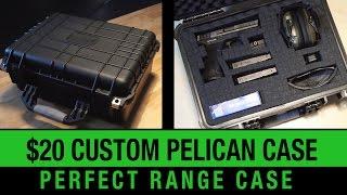 $20 PELICAN CASE - Heavy Duty Gun Range Case
