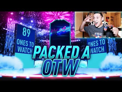 PACKED A OTW, BIG WALKOUT, & AN INFORM!! SPECIAL OTW PROMO PACK OPENING! | FIFA 19 ULTIMATE TEAM